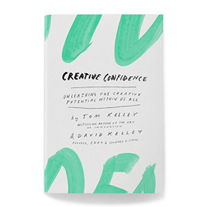 Buchcover creative confidence