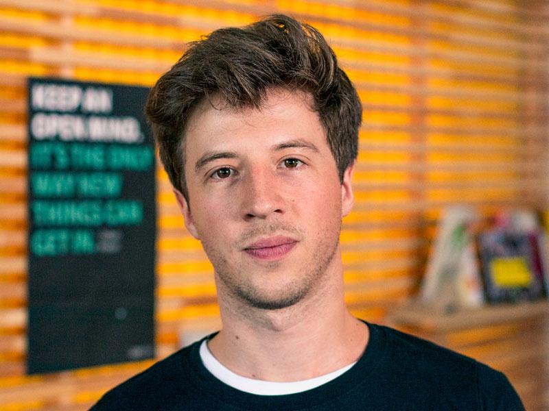 Portrait vom openmjnd Team von Edouard Barthen