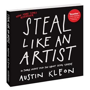 Buchcover Steal like an artist
