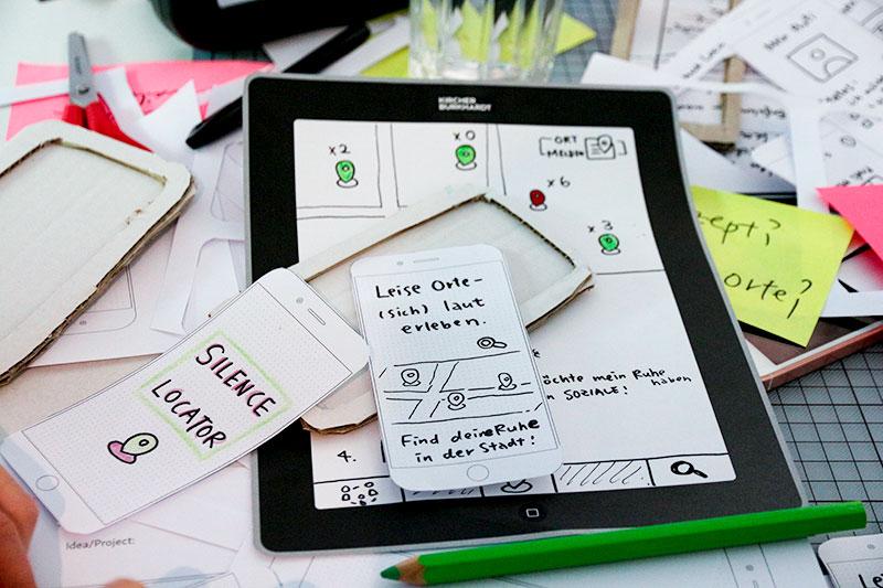 Prototype einer iOS App