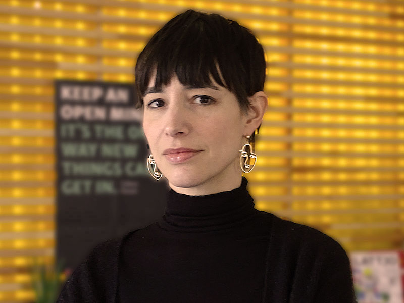 Portrait vom openmjnd Team Dea Dantas Vögler